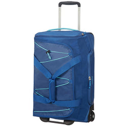 American Tourister Road Quest 2 Wheeled Duffel 55cm | Deep Water Blue