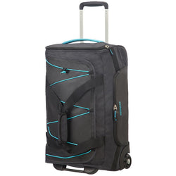 American Tourister Road Quest 2 Wheeled Duffel 55cm | Graphite/Turquoise