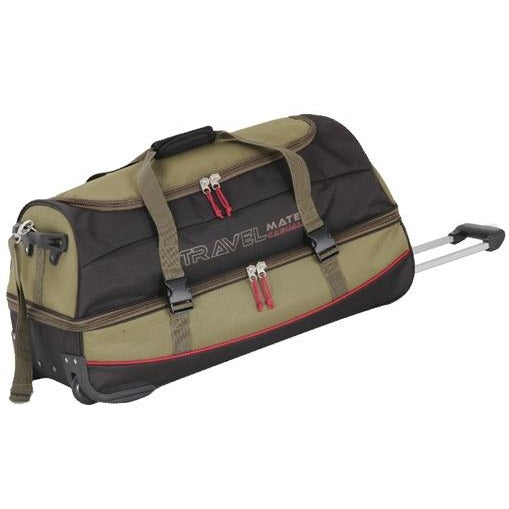 "Travel Mate 28"" Multi Pocket Rolling Duffel 