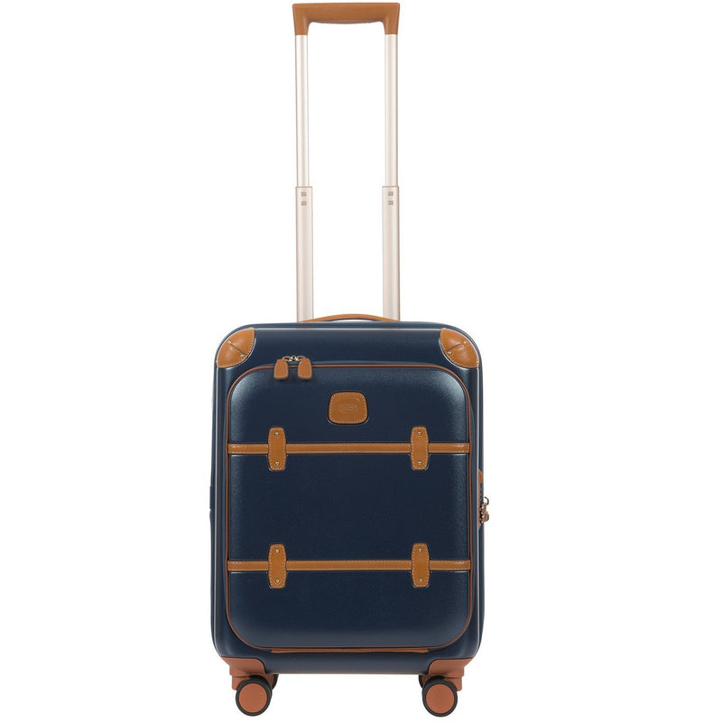 Bric's Bellagio Business v2.0 55cm/21″ Carry-on Spinner | Blue Cognac