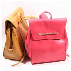 Nouveau Giverny Ladies Leather Backpack