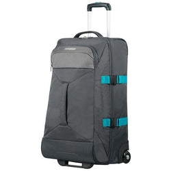 American Tourister Road Quest Duffle With Wheels 69cm | Grey/turquoise