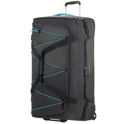 American Tourister Road Quest Duffle With Wheels 79cm | Graphite/Turquoise