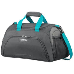 American Tourister Road Quest Sports Bag | Grey/Turquoise