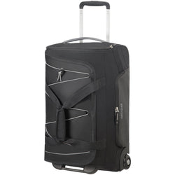 American Tourister Road Quest 2 Wheeled Duffel 55cm | Black/Grey