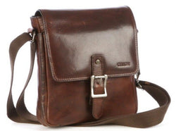 Cellini Woodbridge Small Crossover Sling Bag | Brown