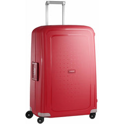 Samsonite S'Cure 81cm Spinner | Crimson Red
