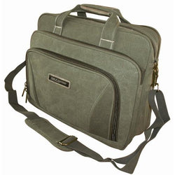 Tosca Canvas 15-inch Laptop Briefcase
