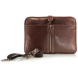 Jekyll and Hide Zulu Leather Laptop Folder | Brown