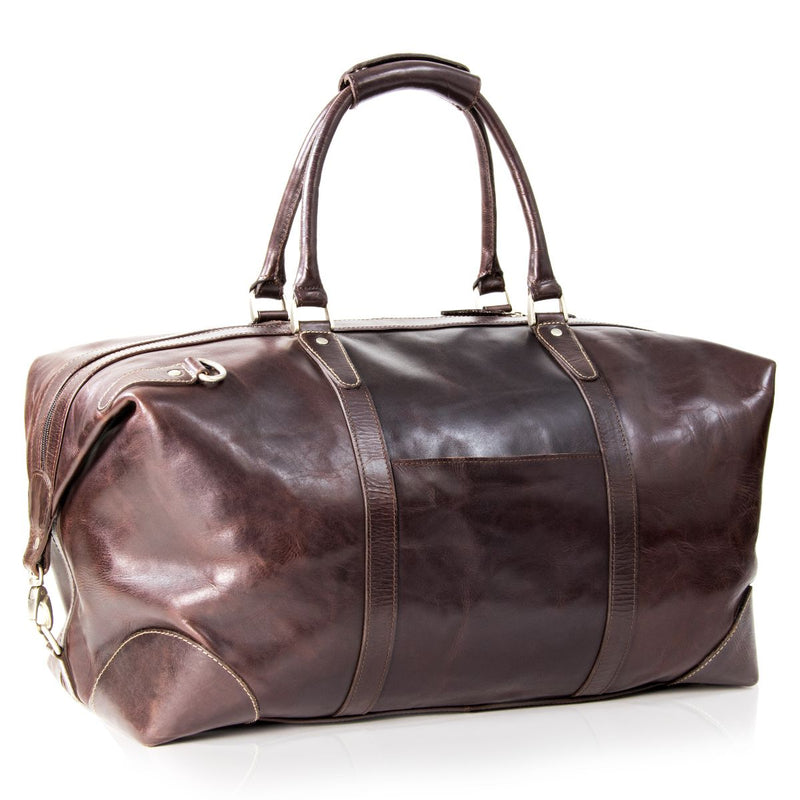 Nuvo Vancouver Carry on Duffel Bag Burnish Brown