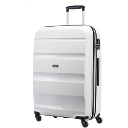 American Tourister Bon-Air 75cm Large Travel Suitcase | White