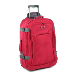 Voyager Fusion 700MM 2 Wheel Trolley Case | Red
