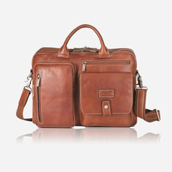 "Jekyll & Hide 15"" RFID Laptop Briefcase 