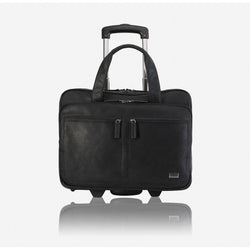 Brando Alpine Laptop Trolley Bag | Black