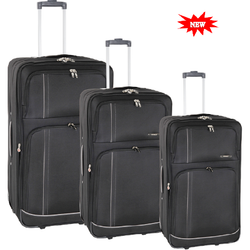 Tosca Space Age Collection Trolley Set | Black