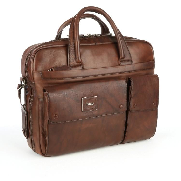 Polo Panama Briefcase | Brown