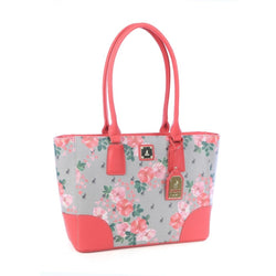 Polo Classic Floral Tote Bag | Coral