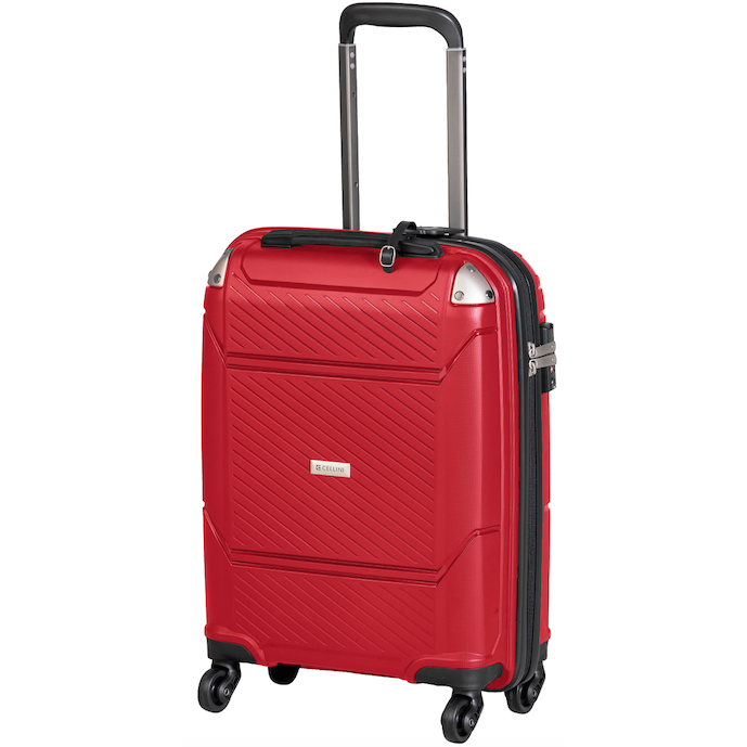 Cellini Exospace 750mm 4 Wheel Trolley Case | Red