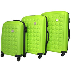 Tosca Sphere 75cm Hard Case 4 Wheel Spinner | Green