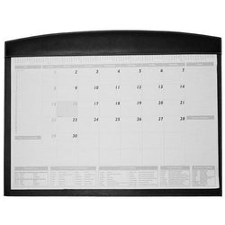 Adpel Leather Desk Blotter | Black