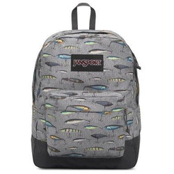 Jansport Black Label Superbreak Backpack | Multi Fishing Lures