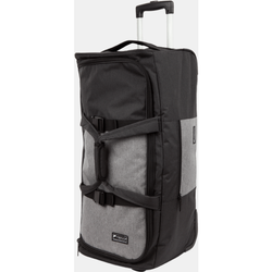 Paklite Limelite Medium 2 Wheel Trolley Duffle | Black/Grey