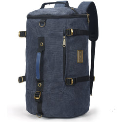 "Tosca Canvas Duffle Backpack With 15"" Laptop Compartment 