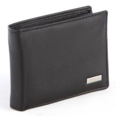 Polo Nappa Multi Card & Coin Wallet | Black