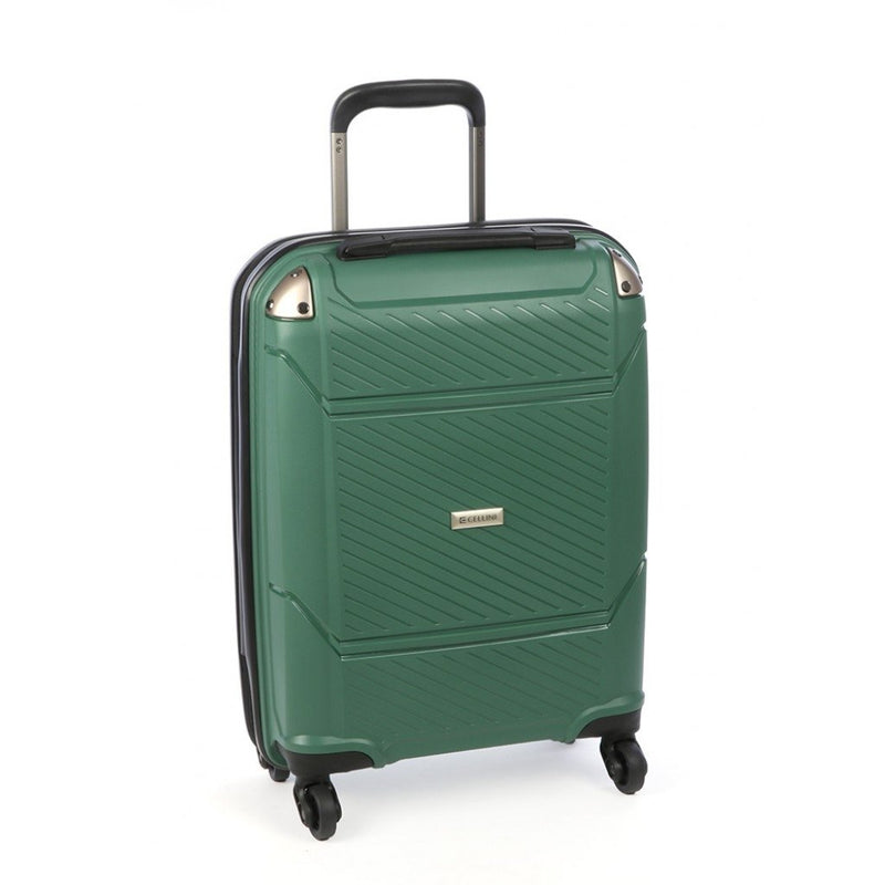 Cellini Exospace 540mm 4 Wheel Carry On | Green