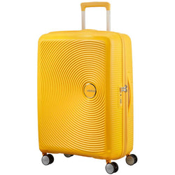 American Tourister Soundbox Spinner Expandable 67cm | Golden Yellow