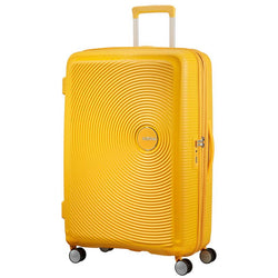 American Tourister Soundbox Spinner Expandable 77cm | Golden Yellow