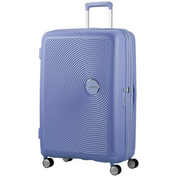American Tourister Soundbox Spinner Expandable 77cm | Denim Blue
