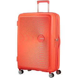 American Tourister Soundbox Spinner Expandable 77cm | Spicy Peach