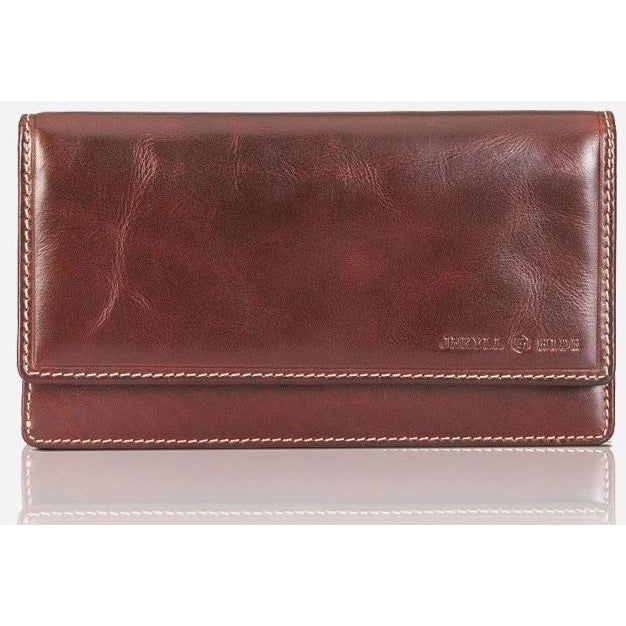 Jekyll & Hide Oxford 15 Card Rfid Purse | Rust - iBags.co.za