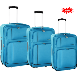 Tosca Space Age Collection 50cm Cabin Trolley | Aqua