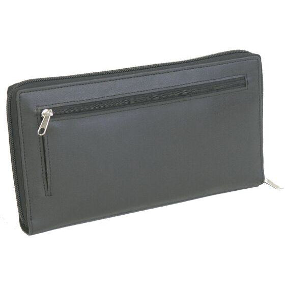 Gino De Vinci Zipped Travel Wallet