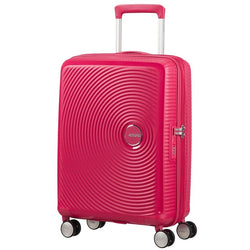 American Tourister Soundbox Spinner Expandable 55cm | Lightning Pink