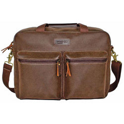 Troop London Laptop Bag | Brown