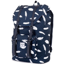 Herschel Supply Company Little America Mid-Volume Backpack | Feather/Black Rubber