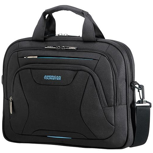 American Tourister At Work Laptop Bag 33.8-35.8cm/13.3-14.1inch | Black