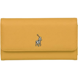 Polo Saffiano Tri Fold Purse