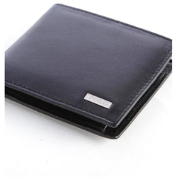 Polo Nappa Billfold With Coin Section | Black