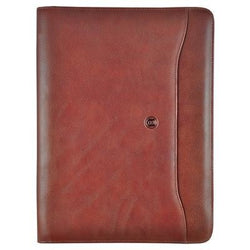 Busby Premier A4 Zipper Folder | Brown