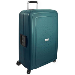 Samsonite S'Cure DLX 75cm/28inch Travel Spinner | Midnight Green