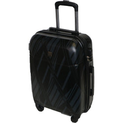Tosca Mirage 55cm Hard Case 4 Wheel Spinner | Black
