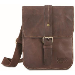 Alpine Crossbody iPad Bag Dust Brown