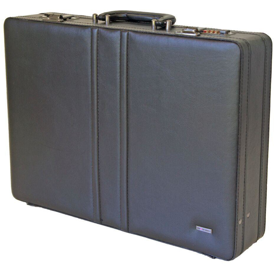 Gino De Vinci Rounded Corner Attache Case