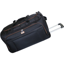 Tosca Platinum 70cm Duffel Bag On Wheels | Black/Orange