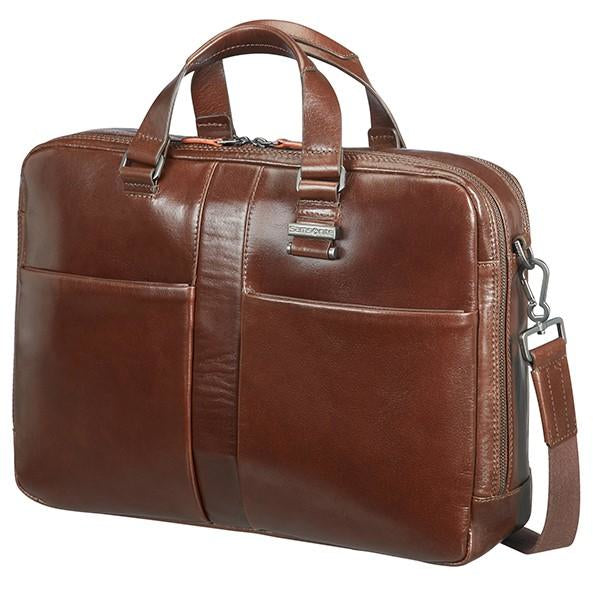 Samsonite West Harbor Bailhandle 2C 39.6cm/15.6inch | Brown