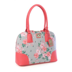 Polo Classic Floral Dome Bag | Coral